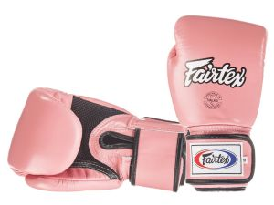 RĘKAWICE BOKSERSKIE FAIRTEX BGV1-B (pink) breathable