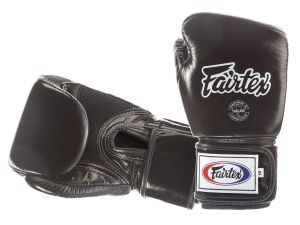 RĘKAWICE BOKSERSKIE FAIRTEX BGV1-B (black) breathable