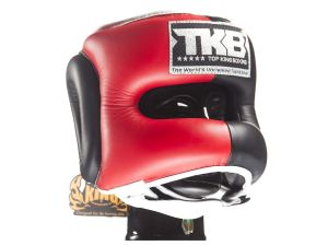 KASK BOKSERSKI SPARINGOWY TOP KING TKHGPT (OC) (321) (red/black/white)