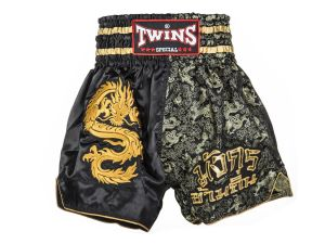 "SPODENKI TAJSKIE TWINS SPECIAL ""CONQUERING DRAGON"" (black/gold)"