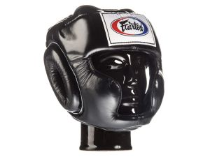 "KASK BOKSERSKI SPARINGOWY FAIRTEX HG3 (black) ""Full Coverage Style"""
