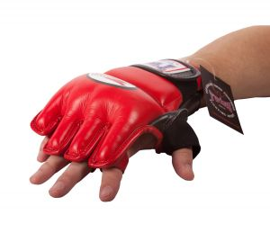 RĘKAWICE MMA TWINS GGL-3 (red/black)