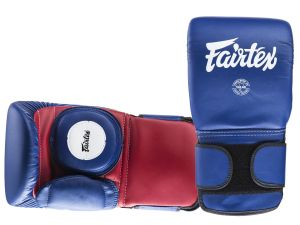RĘKAWICE TRENERSKIE/ŁAPY FAIRTEX BGV13 (blue/red)