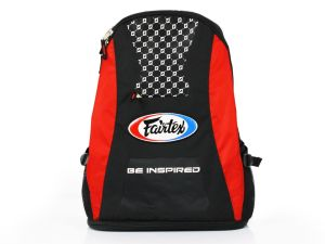 TORBA SPORTOWA / PLECAK FAIRTEX BAG4 (black/red)