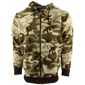 BLUZA Z KAPTUREM Z POLARU FAIRTEX FHS15