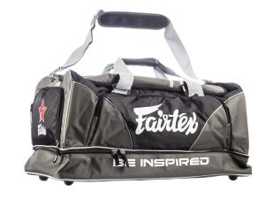 "TORBA SPORTOWA FAIRTEX BAG2 (grey/black)  ""Heavy Duty"""