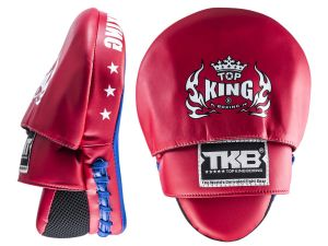 "TARCZE BOKSERSKIE TOP KING TKFMS ""SUPER"" (red/blue) - PARA - 2SZT"