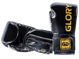 "RĘKAWICE BOKSERSKIE FAIRTEX BGVG1 ""GLORY"" (black)"