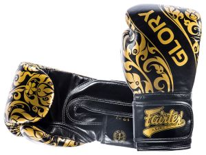 "RĘKAWICE BOKSERSKIE FAIRTEX BGVG2 ""GLORY"" (black)"