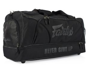 "TORBA SPORTOWA FAIRTEX BAG2 (black/black)  ""Heavy Duty"""