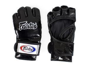 "RĘKAWICE MMA FAIRTEX FGV12 ""Ultimate Combat"" (black)"
