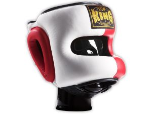 KASK BOKSERSKI SPARINGOWY TOP KING TKHGPT (OC) (132) (white/red/black)