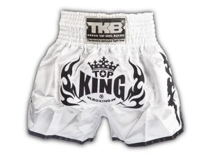 SPODENKI TAJSKIE TOP KING TKTBS-018 (white/black)