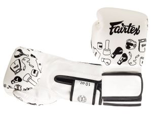 "RĘKAWICE BOKSERSKIE FAIRTEX BGV14W ""STREET ART - GRAFFITI 1970"""